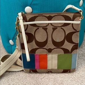 🌈Authentic Coach Colorful Crossbody Purse🌈